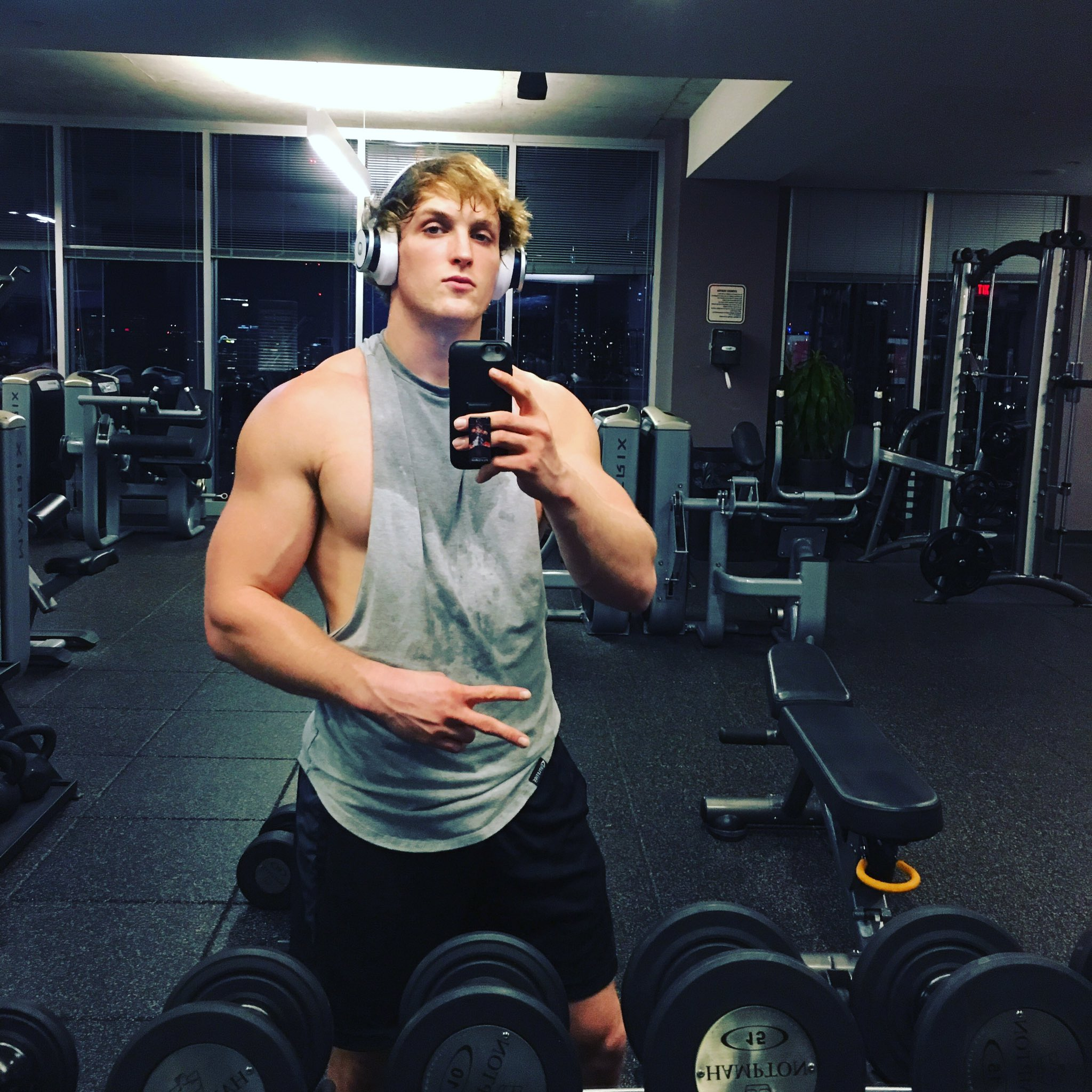 """Working Out: Logan Paul On Twitter: """"Pumped That The Gym In Atlanta"""