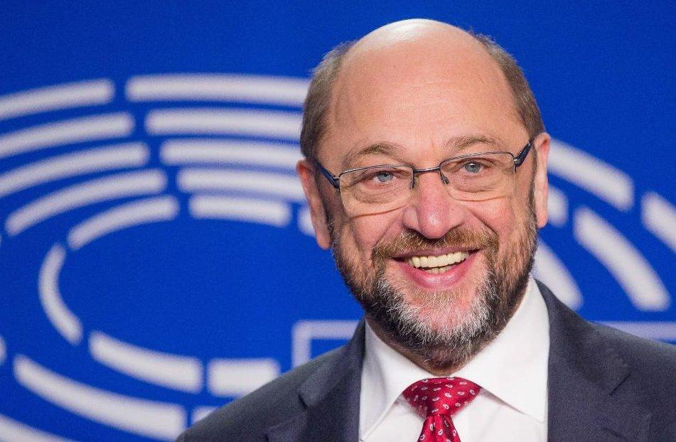 Eu Parlamentspräsident Martin Schulz