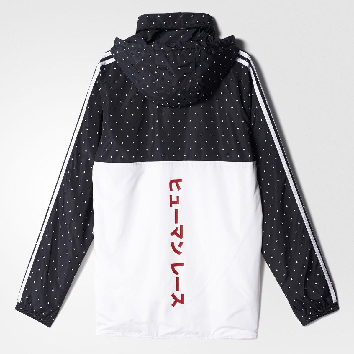 adidas x  Pharrell HU Woven Hoodie for  80 + FREE Shipping w  code BMSMNOV     http   goo.gl heV6Il pic.twitter.com OUspHBEtBX c0a81a93c