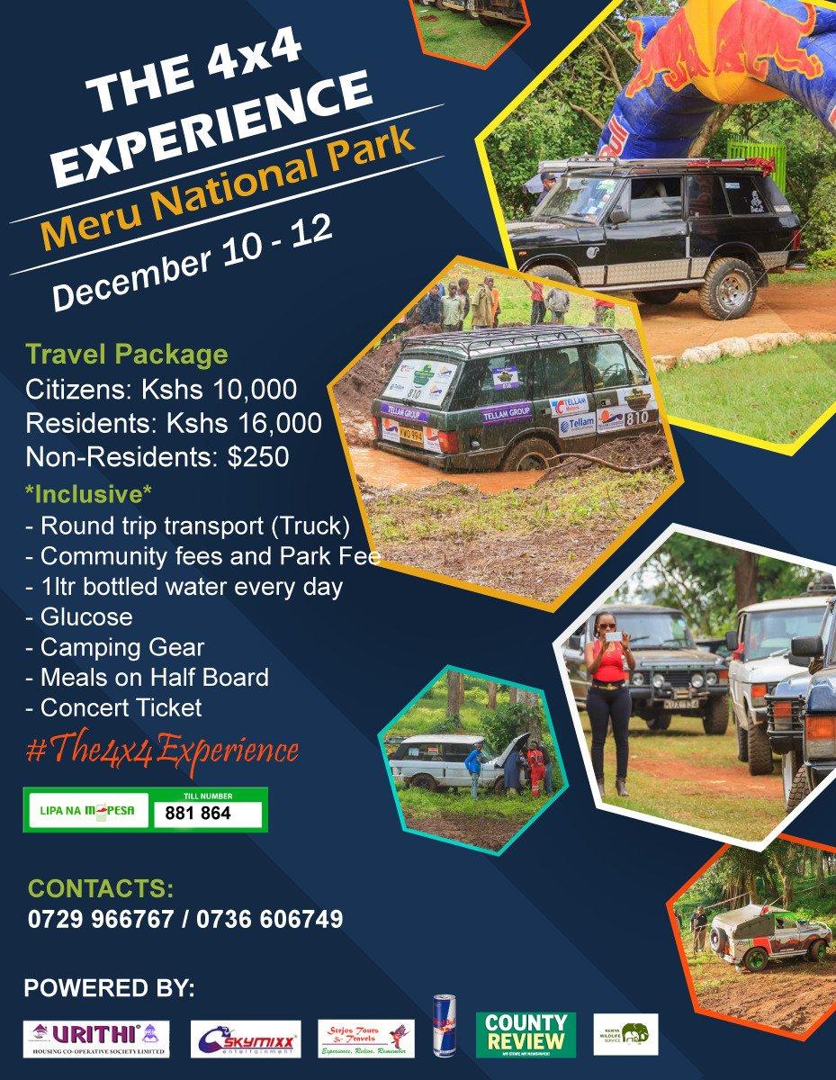 It&#39;s big #TembeaMeru #The4x4Experience<br>http://pic.twitter.com/t3J9JtdRiO