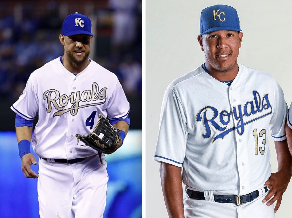 best service 6484b 92742 Royals to Wear Gold-Trimmed Uniforms in 2017 | Uni Watch