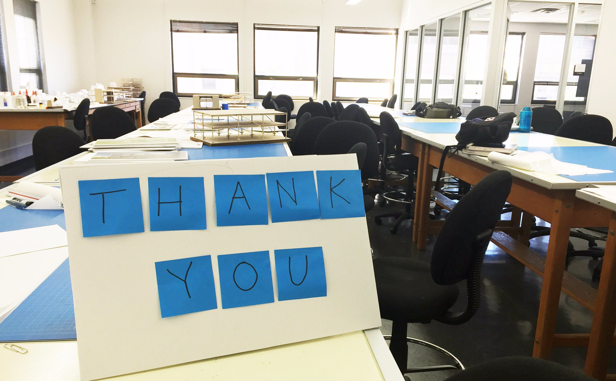 Every gift makes a difference - from new spaces (very much in use!) to supporting research & more. Thank you, alumni & friends! #UTThanksDay https://t.co/XASorg9pBg