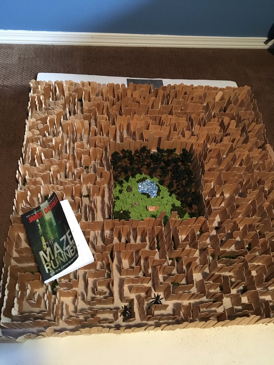 DailyProphets On Twitter Check Out This Cool Maze Runner Book Report Project When Are You Coming To Boise