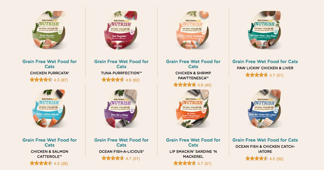 Q4 Which of the grain free wet cat foods would be your cat's fave? Everything from chicken to sardine! #NutrishCat https://t.co/vXagNdCciE