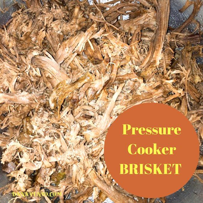 Pressure Cooker Brisket
