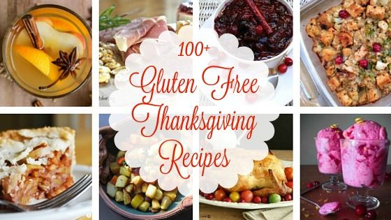 100+ Gluten Free Thanksgiving Recipes