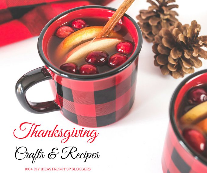 Check out the BEST DIY Recipes & Crafts from the TOP Creative Bloggers Thanksgiving DIY
