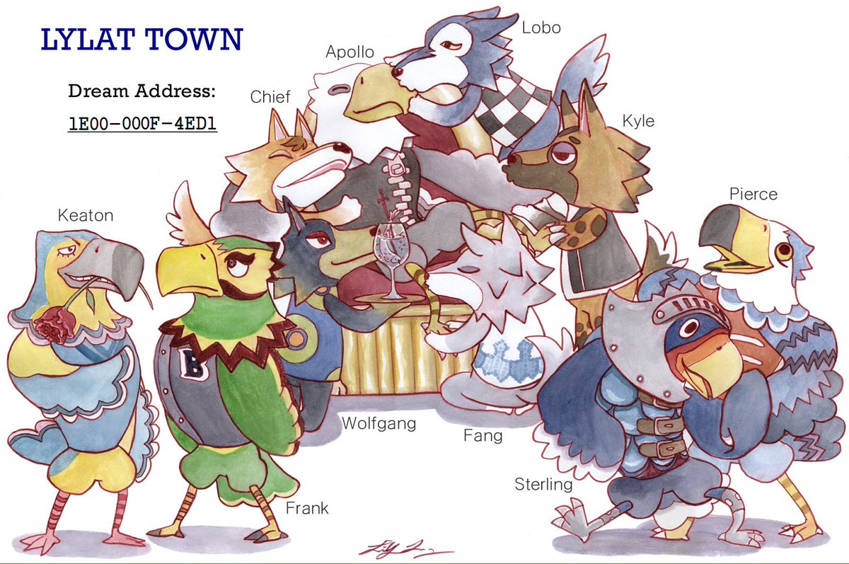 lys on twitter villagers of my acnl village lylat town the