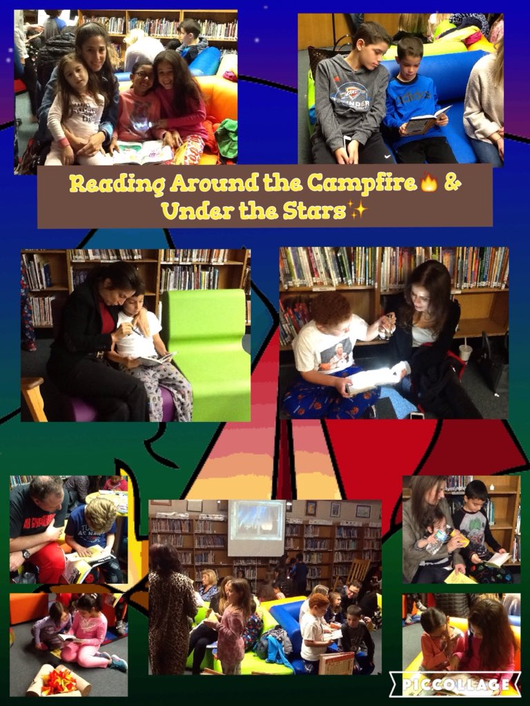 Reading that just right book with our parents around the campfire! @AcohenAllie @Ivysherman #seamanstrength https://t.co/tfyHUOevdk