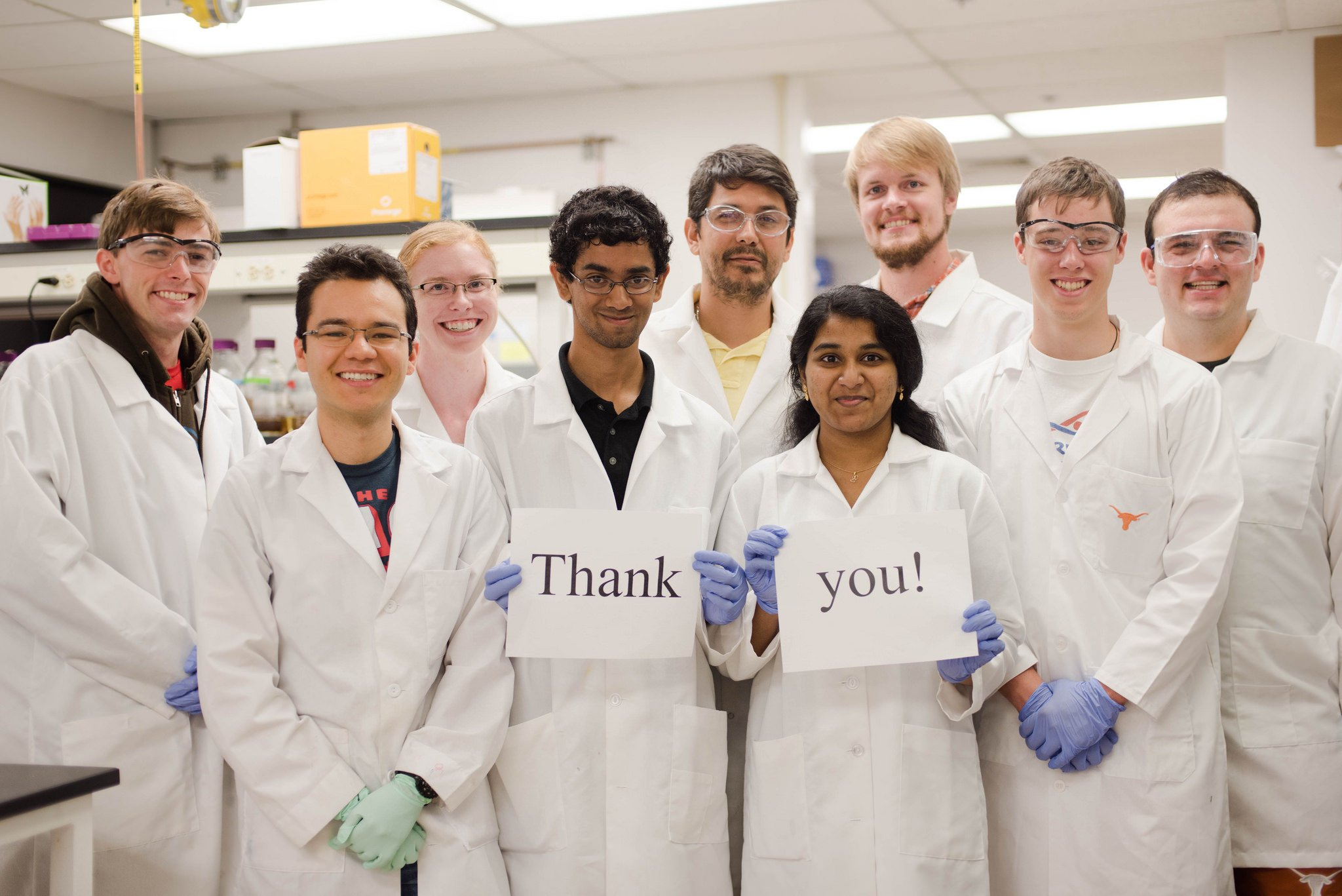 We are so thankful to our dept. donors! Your generosity provides a solid foundation for the chemical engineers of tmrw. Happy #UTThanksDay! https://t.co/Aw4buRbfmJ