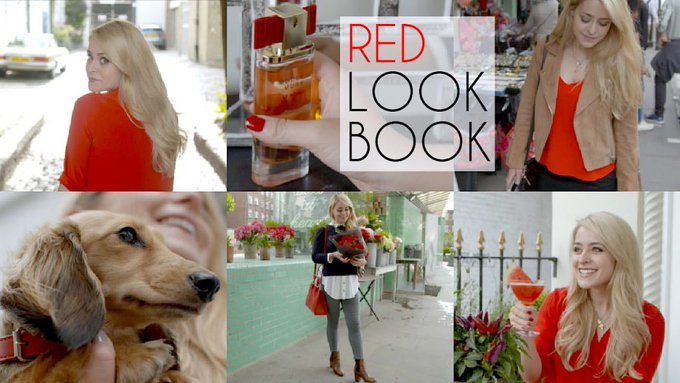 RED Lookbook - FleurDeForce | Ad Fleur DeForce LoveYa Beauty MakeUp -
