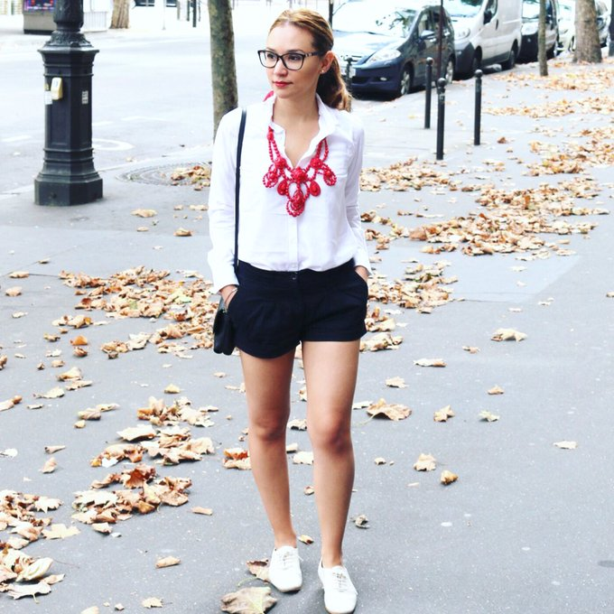 New Post online about my trip to Paris Paris travel ootd style fashion whatiwear
