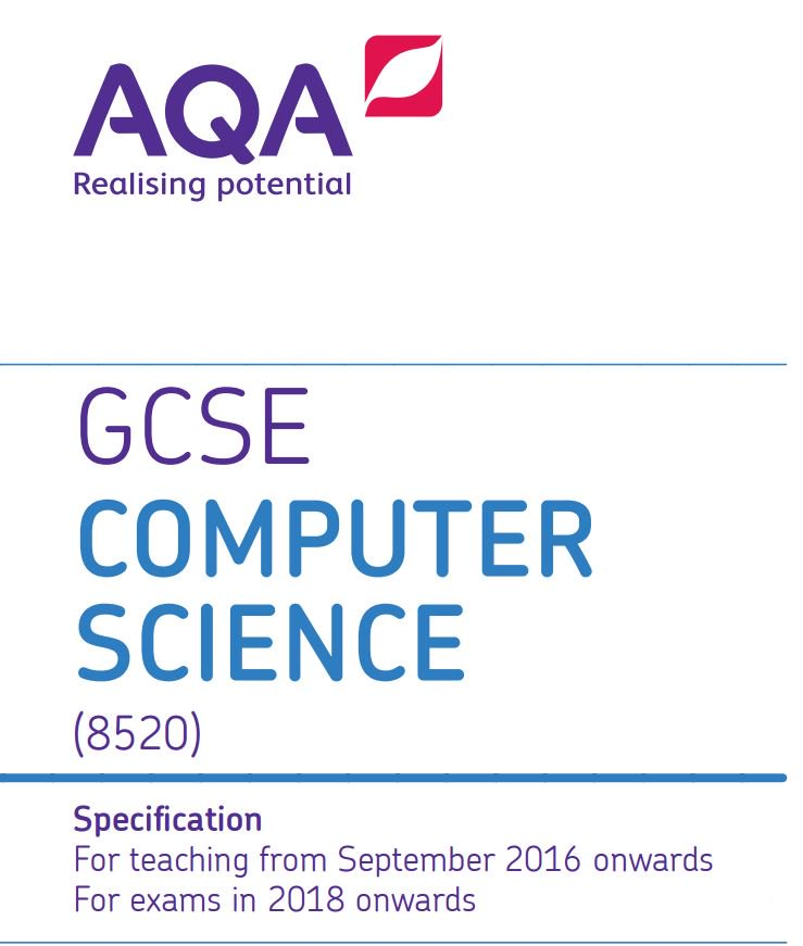 aqa computing coursework specification