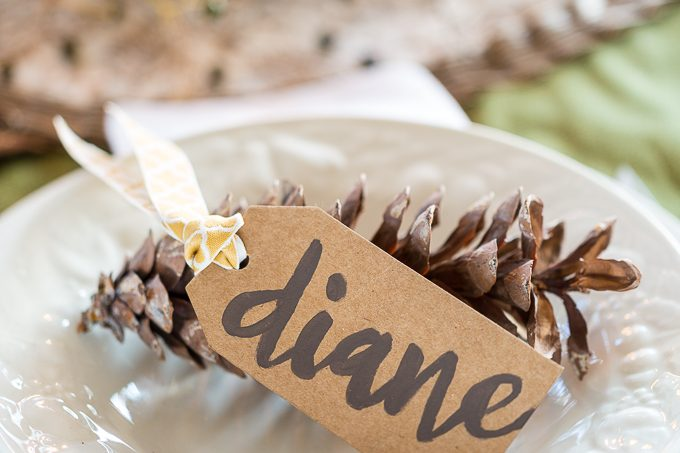 DIY Table Place Cards With Pretty Handwriting homedecor home diy