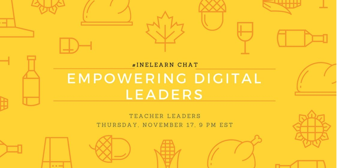Thumbnail for #INeLearn Chat 11/17/16