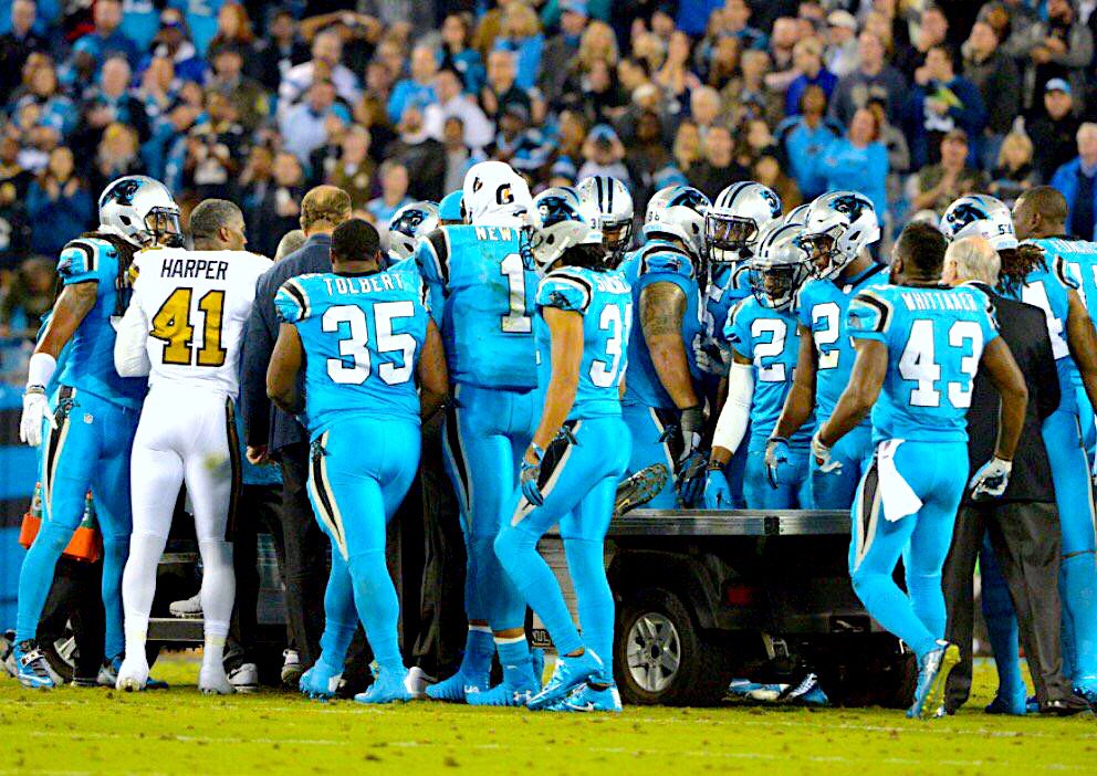 FIRST THINGS FIRST ... PRAYING for my guy Luke Kuechly !!! #NFLfamily