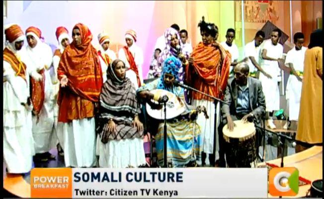 Somali culture #powerbreakfast @willisraburu @joey_muthengi