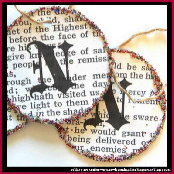 DIY Monogram OrnamentsLINK>>christmas crafts christmascrafts diyornaments