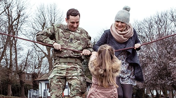 Follow us and learn how we help Forces and their families