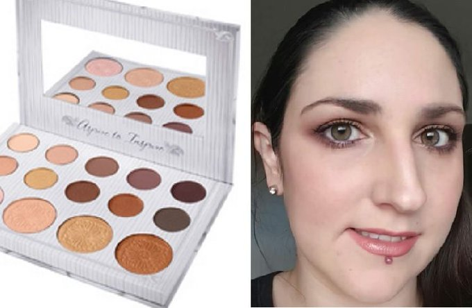 My MANY looks from the bhcosmetics carlibybel palette! bbloggers beautynews makeup MUA