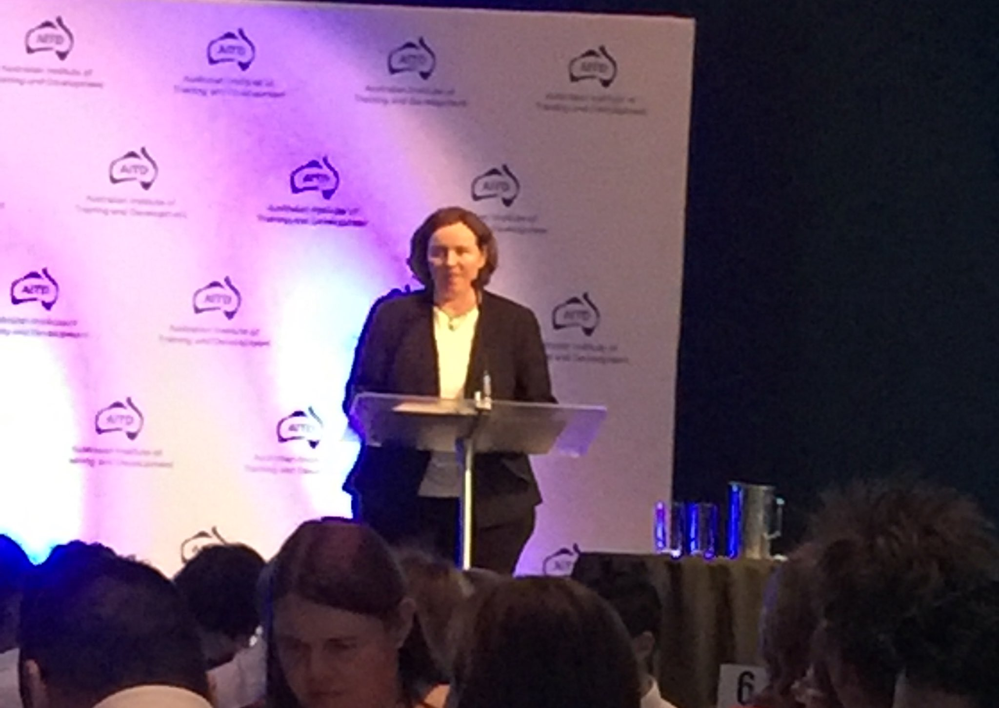 CEO of @aitd1 Elizabeth Robinson opening remarks and welcome to #AITDawards https://t.co/cRRVlIqoQT