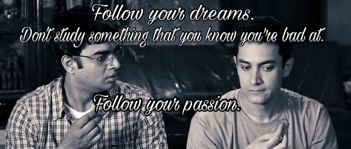 Phoebe Shafinaz On Twitter 3 Idiots Has The Best Quotes We Can