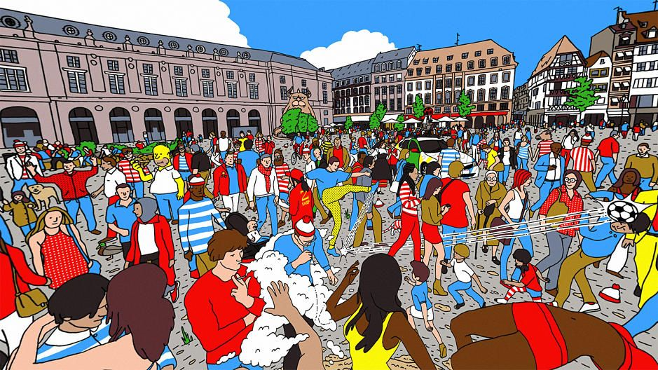 Good luck figuring out 'Where's Waldo?' in 360-degrees buff.ly/2fls7WK