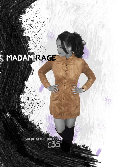 How good does Madam RageSUEDE SHIRT DRESS LOOK!!ootd fblogger blogger suede s