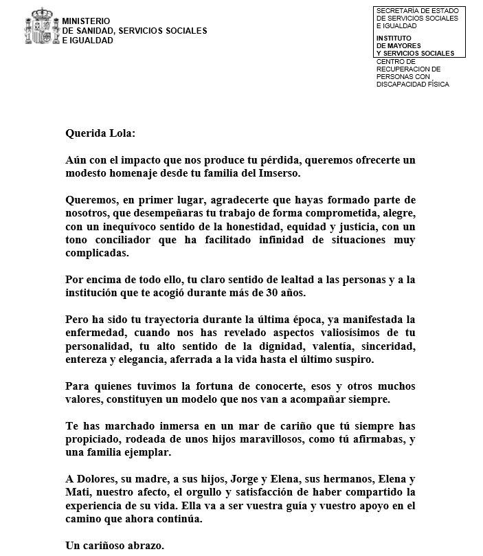 Crmf San Fernando On Twitter Carta De Despedida Del Crmfsf A