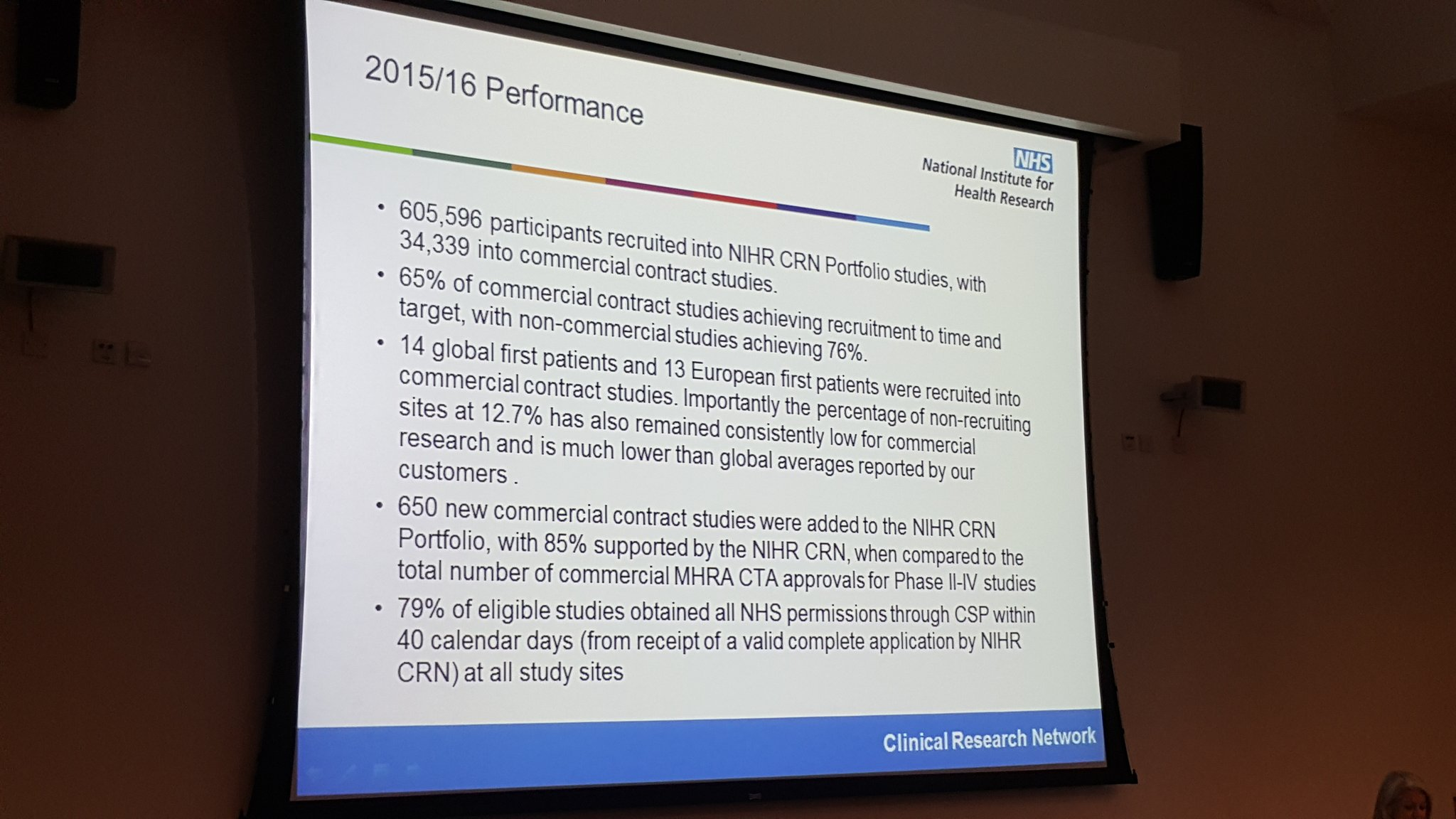 Amazing stats being shown by @dollyblue3 @OfficialNIHR at #CBRsymp16 WOW! #whywedoresearch @CambridgeBRC https://t.co/gS09Z2Y3B6
