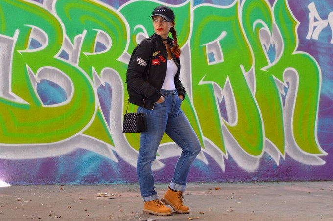 [Look] BackToThe90s wearethemodels ootd 90s blogmode