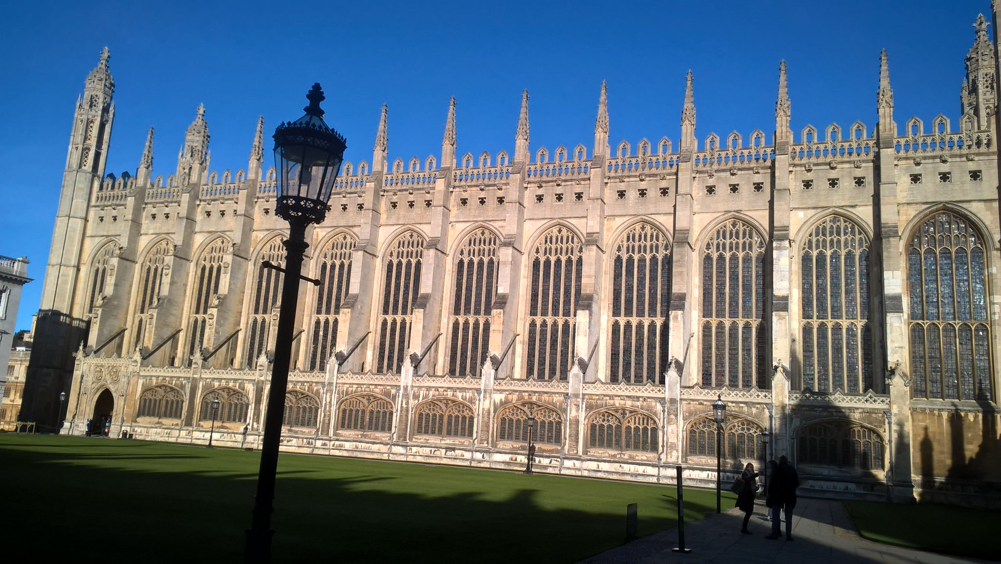 Glorious morning in Cambridge for #HLFImpact16. Looking forward to talks. https://t.co/dbq7Mk3SDS