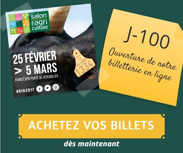 Salon agriculture salondelagri twitter for Billet salon agriculture