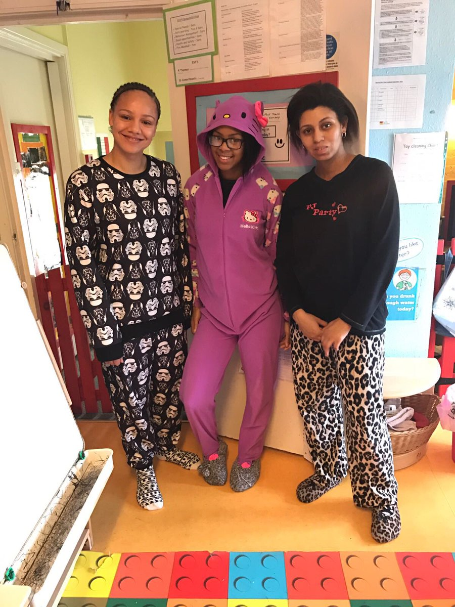 Ercups Nursery On Twitter Our Acton Team In Their Pj S Raising Money For Childreninneed Bbccin