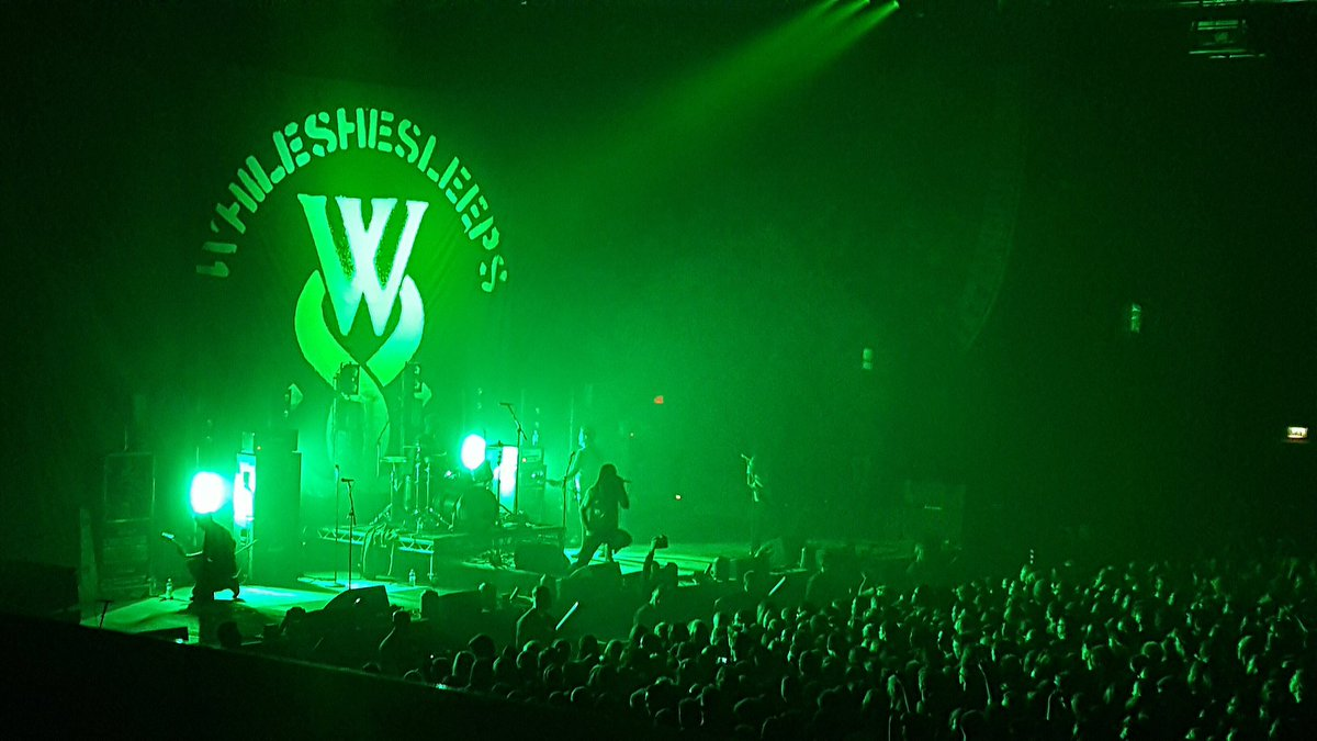 ...it felt so wrong not to jump and sing with the guys #illness Great show as always...thanx! #whileshesleeps #concert #ruhrcongressbochum