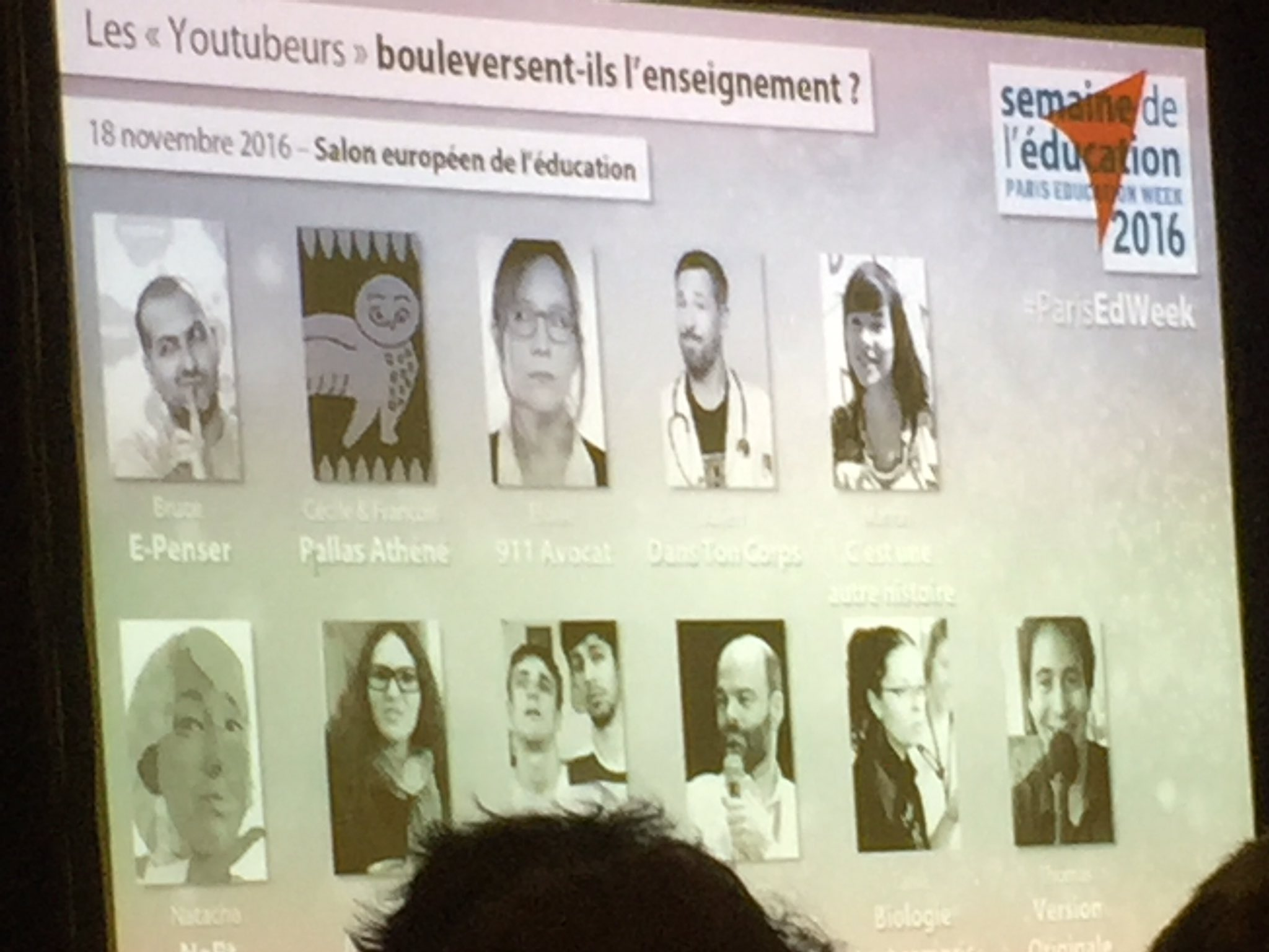 Les youtubeurs en Education #educatectice https://t.co/DYY25E59w9