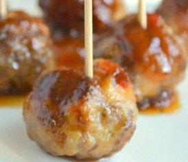 Bourbon BBQ Meatballs