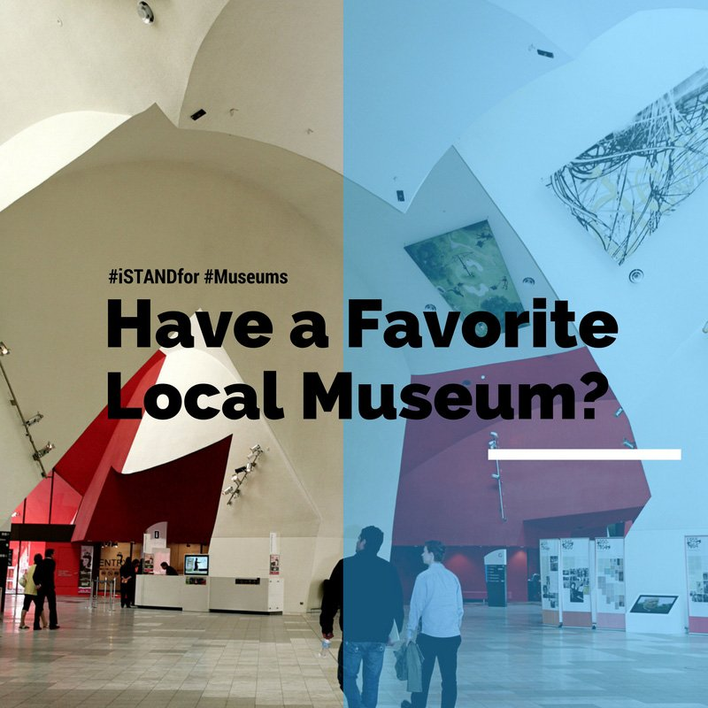 The weekend is the perfect time to explore. What's your favorite local museum? #iSTANDfor #museums https://t.co/repKQsUP6n