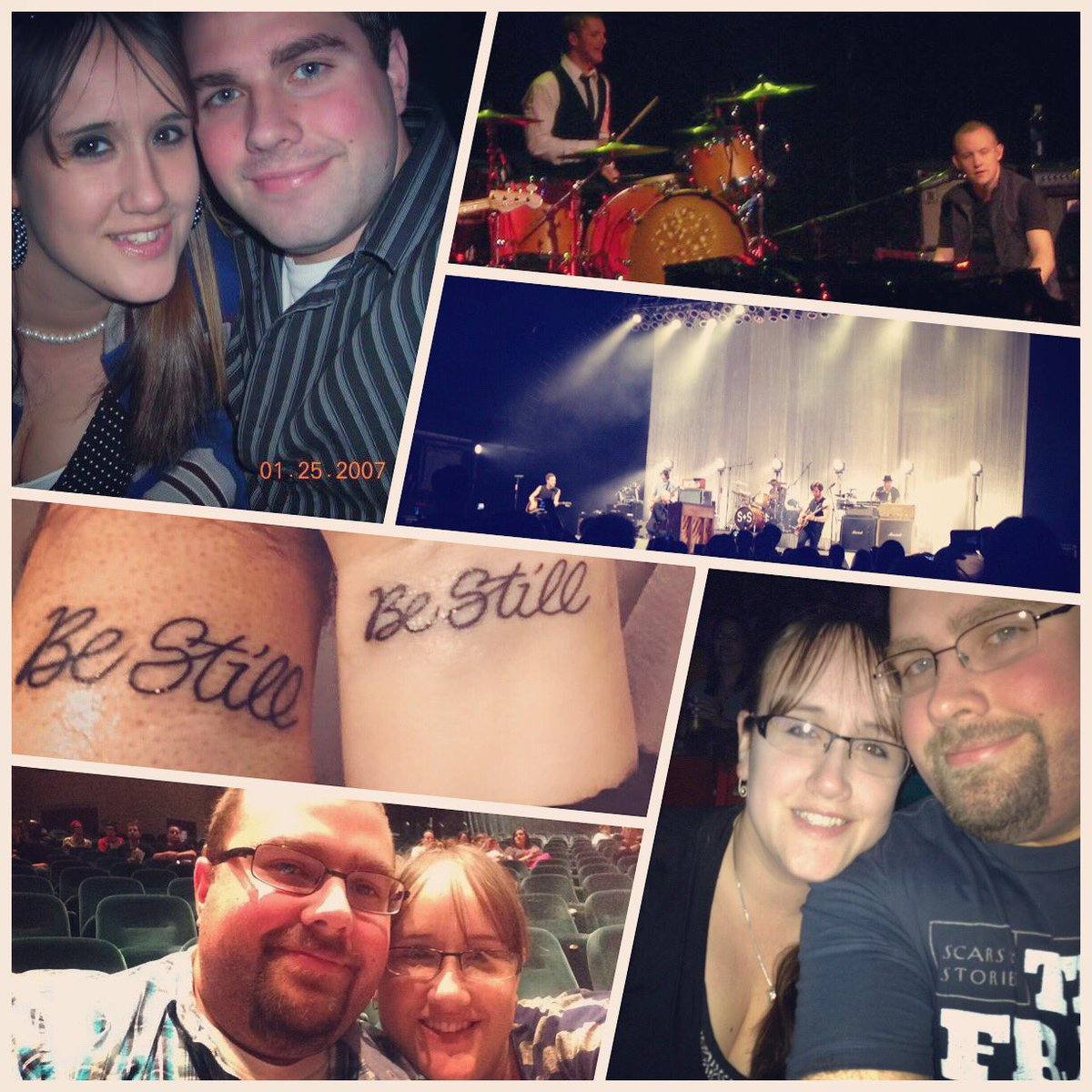 It's been 9 years, 9 months & 24 days since our first date. I took her to see @TheFray live. Tonight will be our 4th show. #thefray #detroit https://t.co/SXJ5cxrJKK
