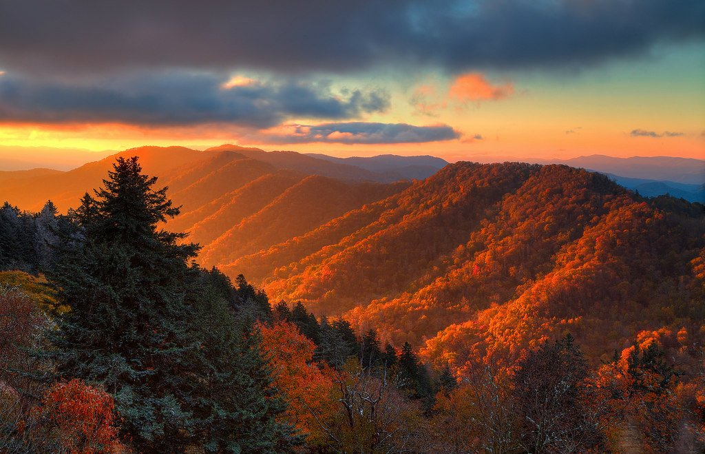 TGIF in the Smoky Mountains! #TGIF #GreatSmokyMountains #Gatlinburg https://t.co/ck0HPN4pHn