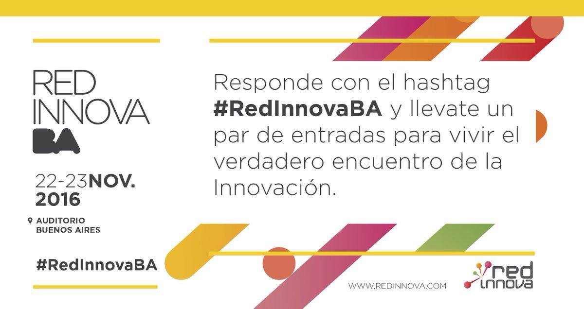 Se parte de #RedInnovaBA 2016