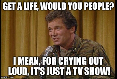 """William Shatner on Twitter: """"Correction: I renamed it Get A Life Day! ��… """""""