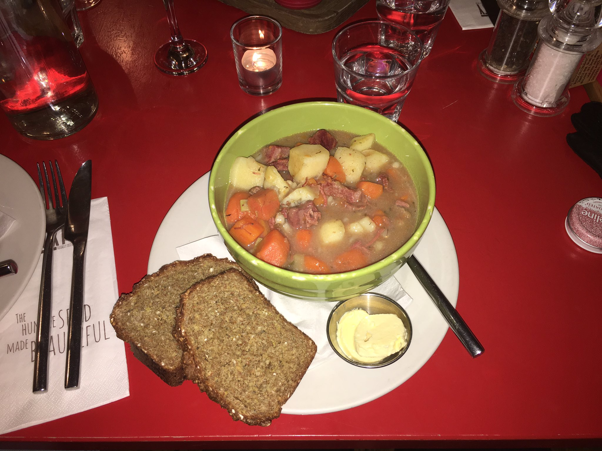 Perfect weather for this right here ! Irish stew!!! ☘️ https://t.co/NqpjtDBpeY