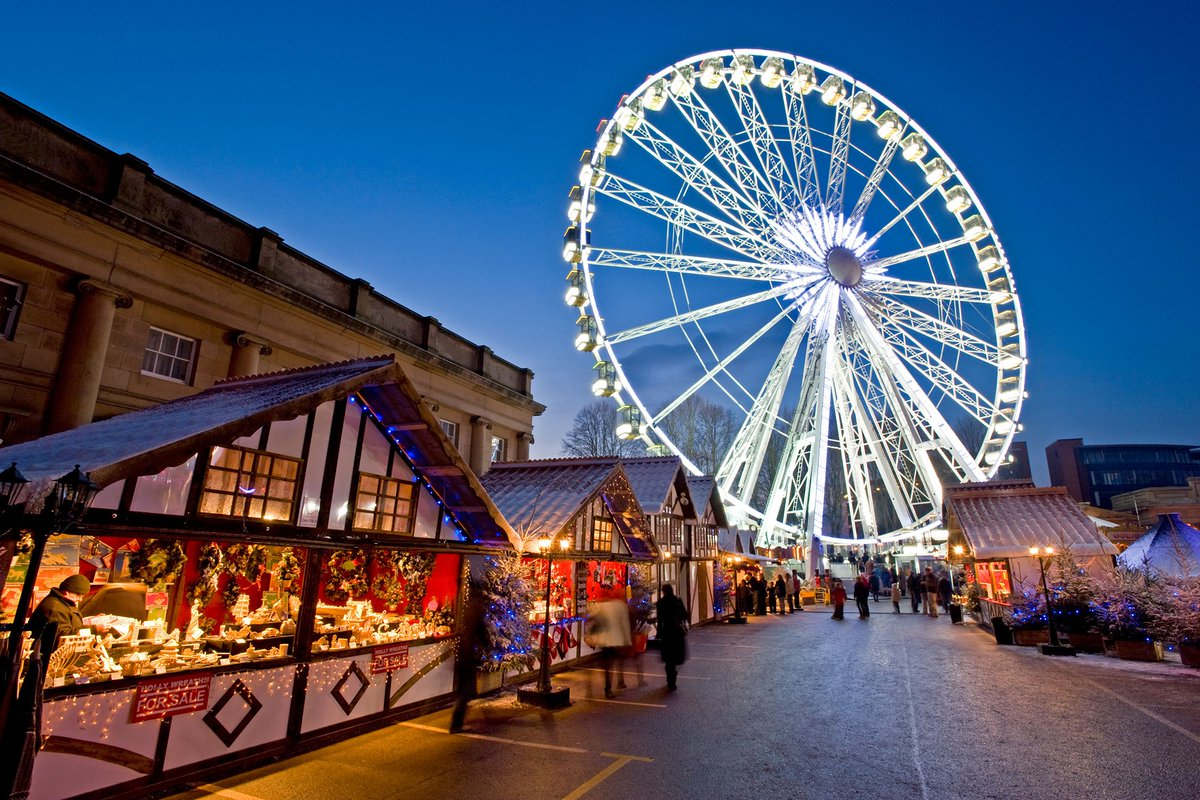 Great British Breaks: the Roman city of Chester's Christmas market is now open https://t.co/aa6z7vCtdw https://t.co/T4R1NIBVqL