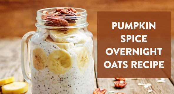 Pumpkin Spice Overnight Oats Recipe