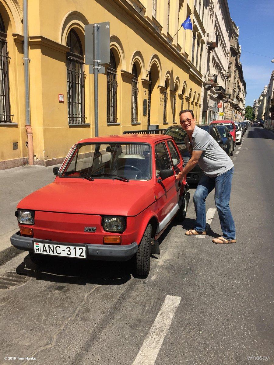 Tom Hanks On Twitter I Got A New Car Hanx Https T Co Kzij8qeiyo