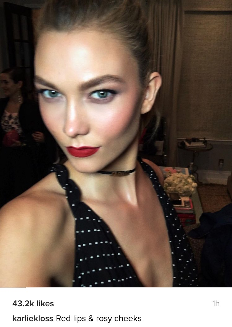 Taylor Swift News On Twitter Karlie Kloss Posted This Selfie On