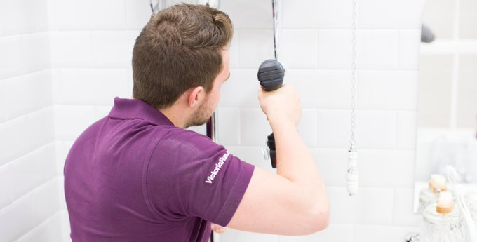 Friday is DIY day here at VP. Find out how to fit your bath screen: