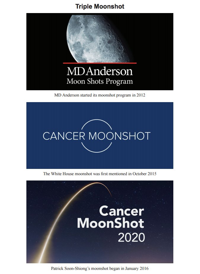 "MD Anderson Sues Billionaire @DrPatSoonShiong Over Using the Word ""#Moonshot"" - https://t.co/MhVYFt4Udl https://t.co/oAnFDrAdpK"