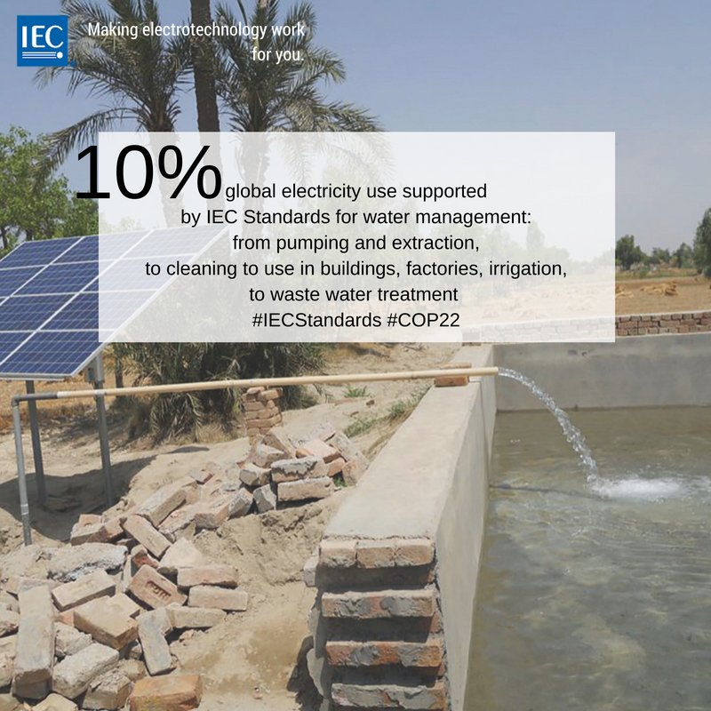 Thumbnail for IEC standards for UN Climate Change Conference 2016